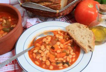 Come cucinare la zuppa di fagioli magri? ricette