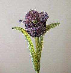 Wie eine Tulpe Wulst zu machen? Weave Tulip Bead für Anfänger