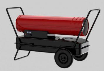 Cannon diesel: recensioni e criteri di selezione. pistola Diesel riscaldamento indiretto: Specifiche