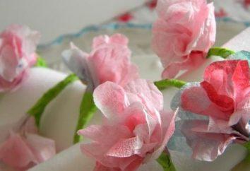 Jak zrobić piękny kwiat z tkanki?