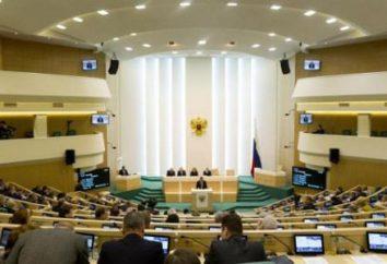 Il Consiglio della Federazione – a … I membri del Consiglio della Federazione