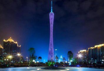 tour de télévision à Guangzhou, en Chine