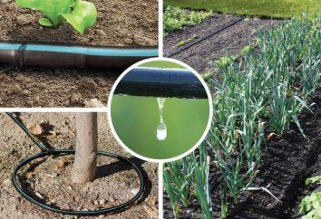 Droppers per irrigazione a goccia con le proprie mani