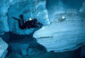 grotte Orda dans la région de Perm