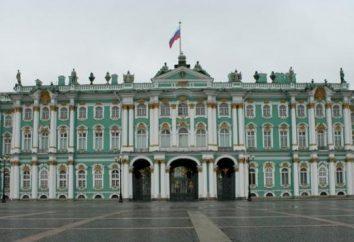 Le Palais d'Hiver, le bâtiment principal du Musée de l'Ermitage
