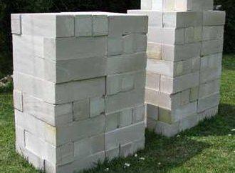Calcestruzzo aerato autoclavato: la produzione, l'ambito di applicazione, in particolare il materiale