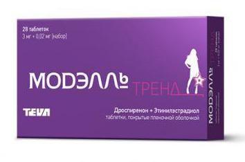 "pigułki antykoncepcyjne ""Trend model"": Opinie"
