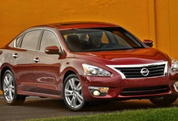 """Opis i dane techniczne: """"Nissan Teana"""" nowa generacja"""