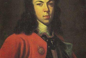 O caso de Alexei. Alexei Petrovich Romanov: a recusa do trono