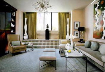 Salotti moderni: foto. Progettazione di un soggiorno in uno stile moderno