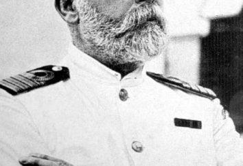 Capitão do Titanic John Edward Smith. Biografia de personalidade histórica