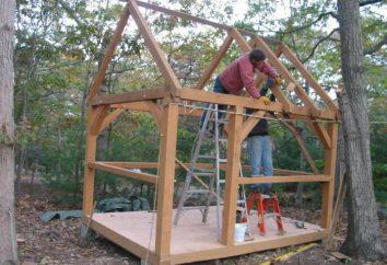 Konstrukcja kabin własnymi rękami: kroki w siedem dni