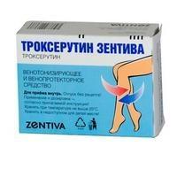 """medicina """"troxerutina"""". Instrucciones de uso"""