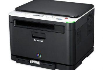 Wielofunkcyjne Samsung CLX-3185: opis,