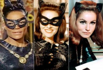 Catwoman: Actrice Enn Heteuey – ce dernier, qui a incarné l'image dans les films. Six belles femmes qui ont joué le personnage légendaire