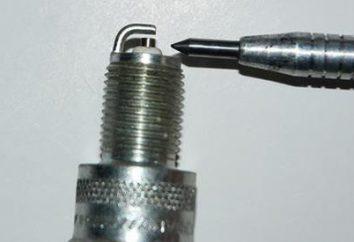 La brecha entre los electrodos de las bujías: medición, el ajuste