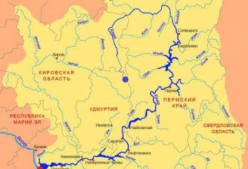 Onde está a nascente do rio Kama? Fatos Geografia e interessantes