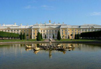 Gran palacio, Peterhof: descripción, historia, arquitectura y hechos interesantes