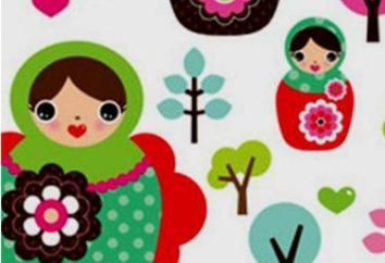 Jak narysować zagnieżdżone lalki etapami, jak to zrobić aplikacja na ubrania i naklejki dla mebli dziecięcych