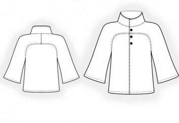 """Coat pattern con maniche ad aletta ( """"Burda""""). modelli popolari per le donne cappotto"""