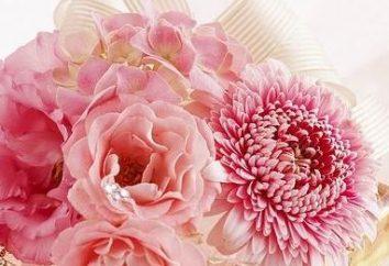 Wie man Blumen machen für die Innendekoration aus Gewebe