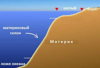 La pente continentale – il … Caractéristiques d'une structure et les types de la pente continentale