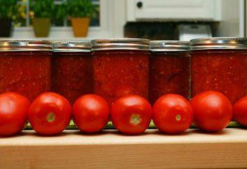les tomates et les oignons en conserve. recettes