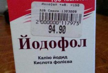 """""""Yodofol"""": instrukcje stosowania leku"""