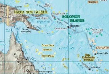 Coral Sea: location, isola, foto