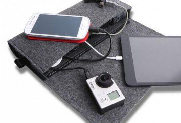 Portable Charging: modèles, ce qu'il faut chercher au moment de choisir un