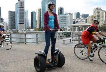 O que você chama para cadeiras de rodas em duas rodas? Segway: a história da invenção, descrição, comentários