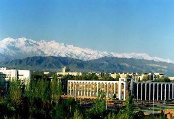 La capitale du Kirghizistan est Bishkek