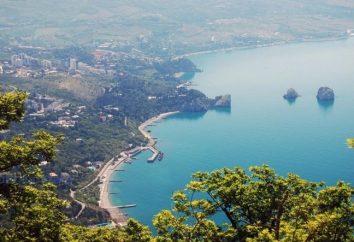 Inimitabile Gurzuf. Crimea attrazioni a portata di mano