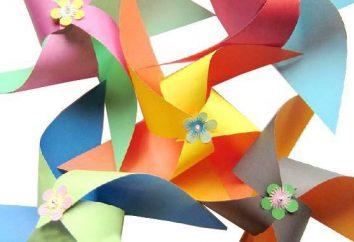kreatywność dzieci: rzemiosło z kolorowego papieru i tektury