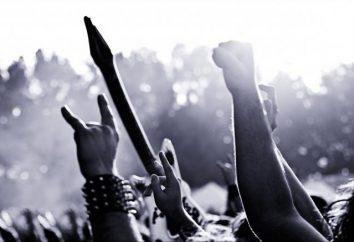 Le meilleur groupe de rock de la Russie: une liste de noms