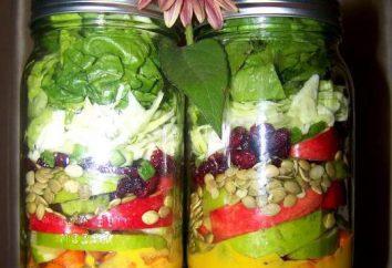 ensalada de calabaza: Receta para el invierno. tocho doméstica