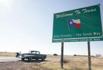 Texas: Zustand von großer Größe und Kapazität