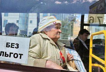 Freie Fahrt für Rentner in der Region Moskau