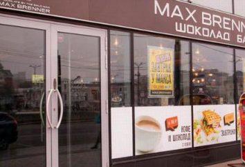 czekolady Max Brenner: Adres, menu, recenzje