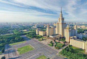 Comparez Saint-Pétersbourg et Moscou: la géographie, le climat, l'histoire, la planification et le potentiel économique