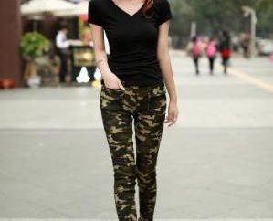 Soprattutto lo stile militare. Pantaloni di svago, passeggiate e viaggi