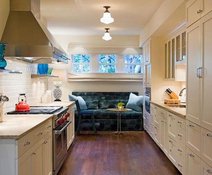 Wie ein Sofa in die Küche zu wählen?