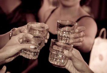 Como beber vodka e não voltes a refeição para a bebida
