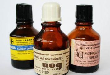 Come per il trattamento di ustioni da iodio?