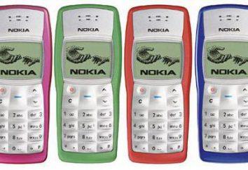 Nokia 1100 Cechy