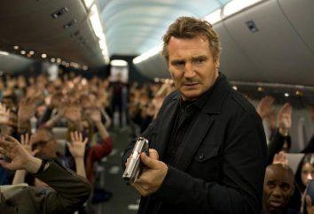Non-Stop: os atores. Liam Neeson no papel de Bill Marx