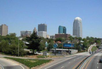 North Carolina, USA. Die berühmte Universität von North Carolina