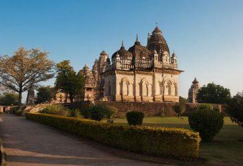 Inde: Temple de l'amour dans Khajuraho. Histoire, la légende et la valeur Temple de l'Amour en Inde