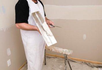 Finition du mastic – gage des murs idéaux