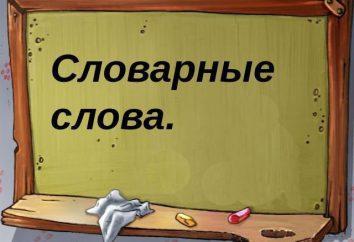 consonante non verificabile nella radice parola: esempi. lingua russa